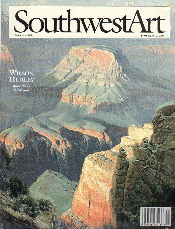 Southwest Art Magazine http://www.southwestart.com We would like to thank Kristin Hoerth, Editor in Chief of Southwest Art for her assistance in tracking down materials and for permission to use them on this website (07/2014).