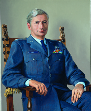 Wilson Hurley Self Portrait as Lt. Colonel.